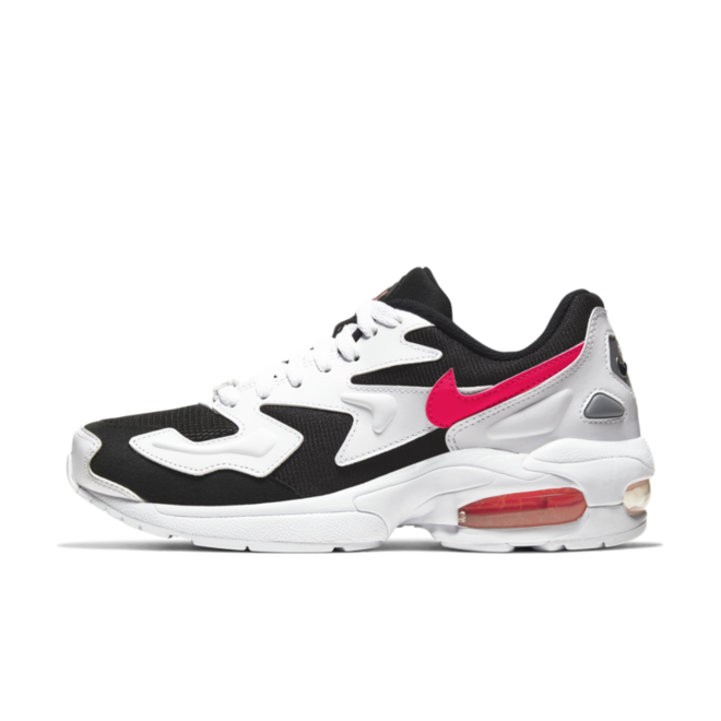 Nike Air Max 2 Light 'Black/Red' zijaanzicht