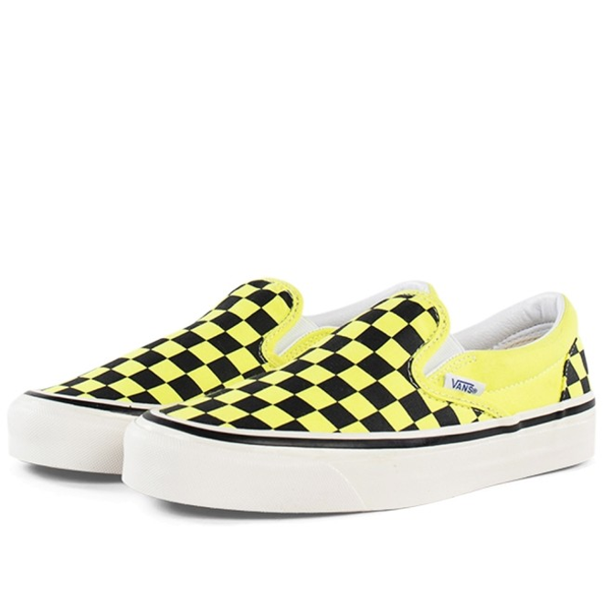 Vans UA Classic Slip-On 9 'Neon Yellow/Check' VN0A3JEXV9O1