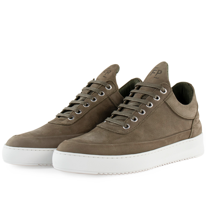 Filling Pieces Low Top Ripple Cairos 'Army Green'