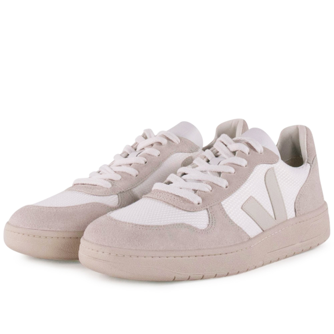 maestría Colgar mal humor  Veja V10 B Mesh 'White Natural' | VX011542 | Sneakerjagers