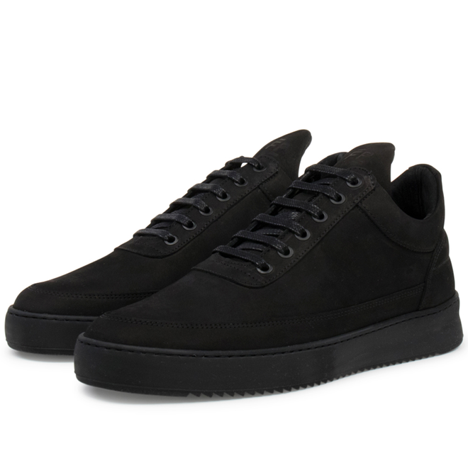 Filling Pieces Low Top Ripple Tonal 'Black'