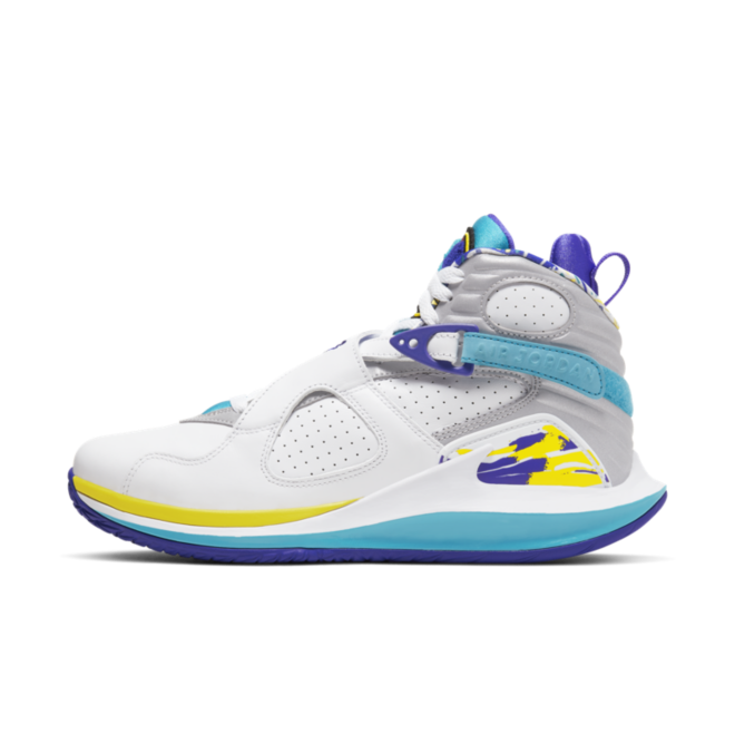 NikeCourt Zoom Zero Jordan 8 Hardcourt 'Aqua' zijaanzicht