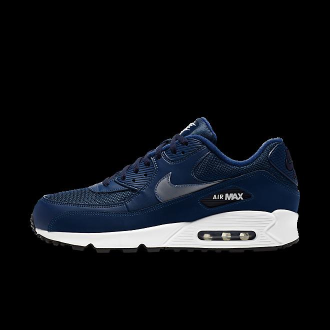 Nike Air Max 90 Essential Coastal BlueWhite Blackened Blue Black | AJ1285 406