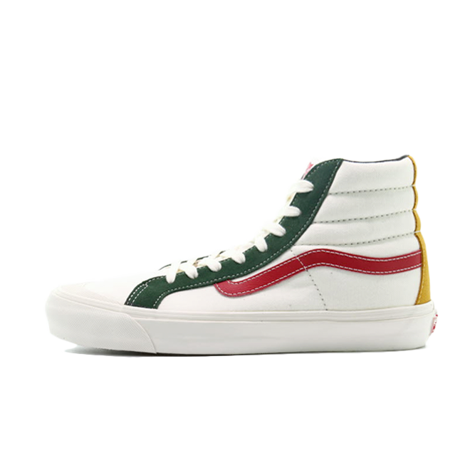 Vans Styke 138 LX 'Green/Red' VN0A45KDVZ01