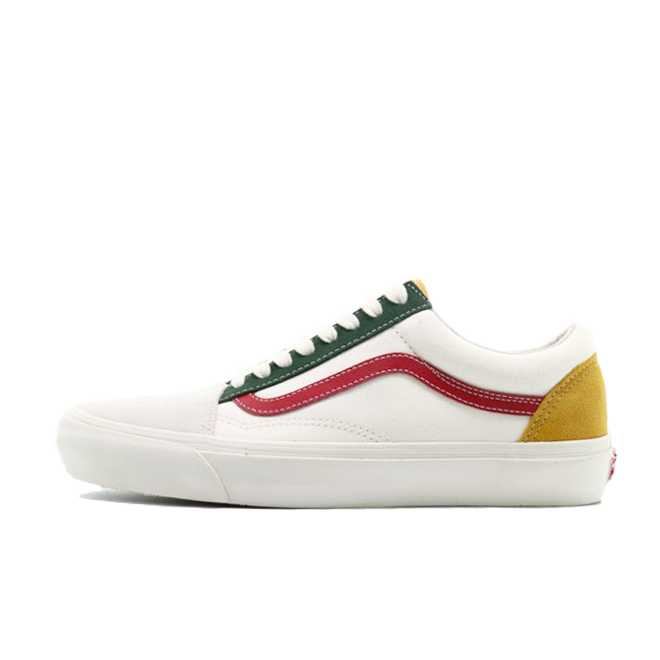 Vans Old Skool LX OG 'Green/Red' zijaanzicht