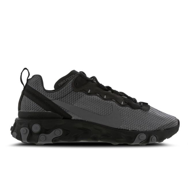 Nike React Element 55 SE (Black / Dark Grey)