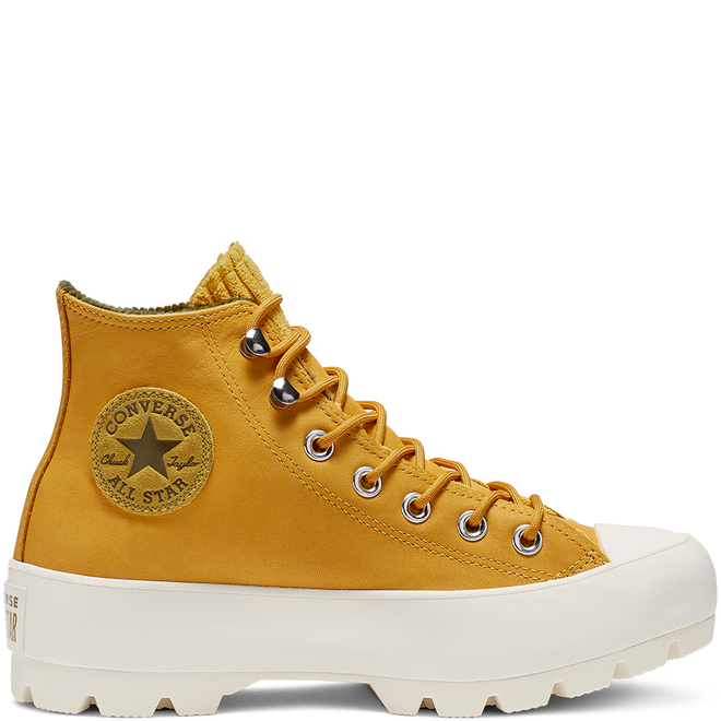 Chuck Taylor All Star Lugged Waterproof Leather High Top