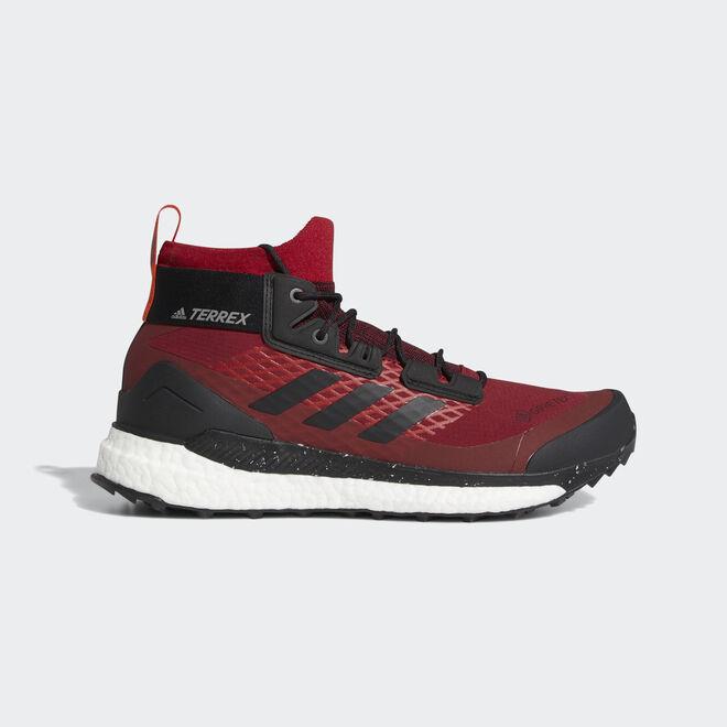 Adidas red Terrex Free Hiker GTX