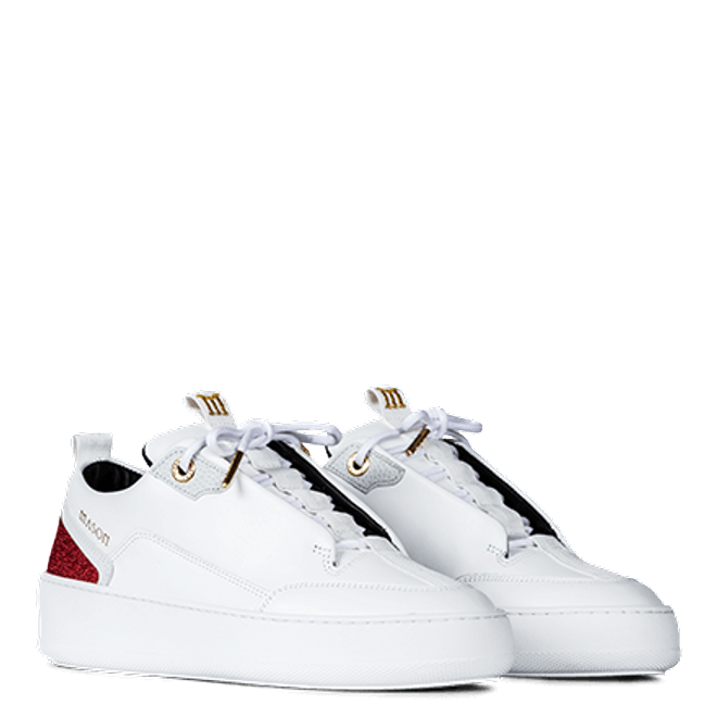 Mason Garments Milano Next Gen White / Red