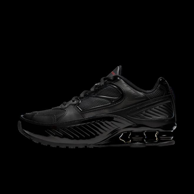 Nike Shox Enigma 'Triple Black' zijaanzicht
