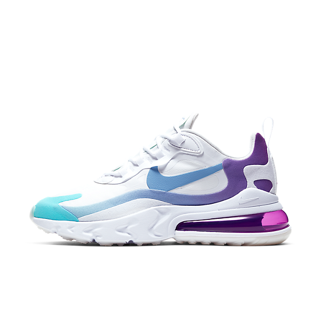 Nike Wmns Air Max 270 React 'Light Blue/Aurora Green'