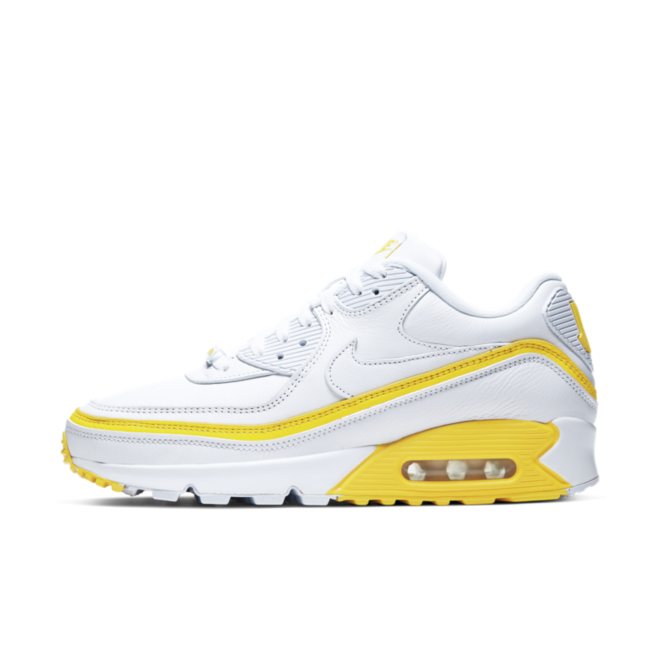 UNDEFEATED X Nike Air Max 90 'White & Yellow'
