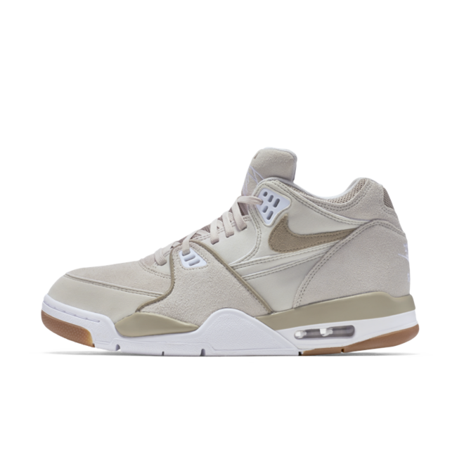 Nike Air Flight 89 LE 'Beige' zijaanzicht