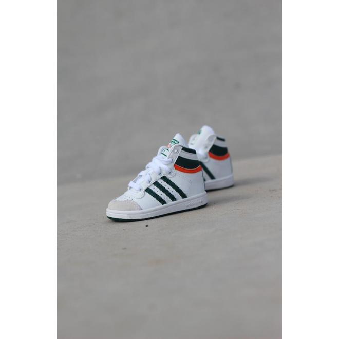 Adidas Top ten hi whitegreenred ts | EF2840
