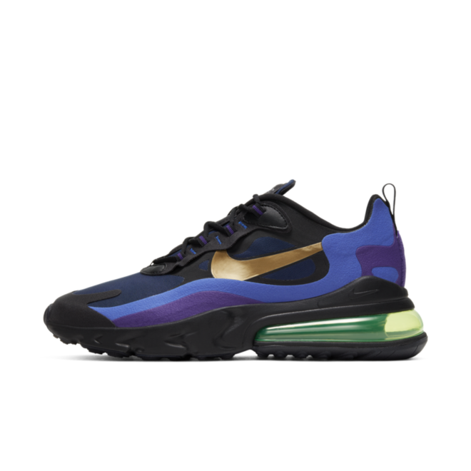 Nike Air Max 270 React 'Heavy Metal' zijaanzicht
