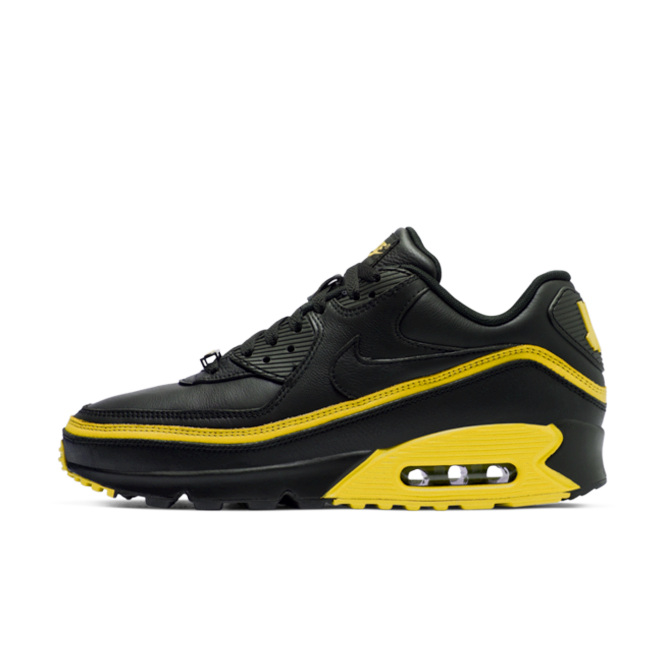 Undefeated X Nike Air Max 90 'Black/Yellow' CJ7197-001