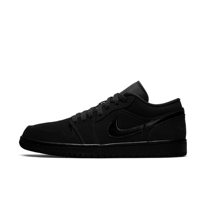 Nike Air Jordan 1 Low Black / Black