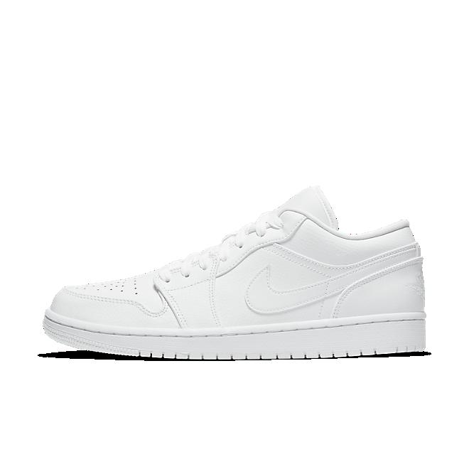 Nike Air Jordan 1 Low (White / White - White)