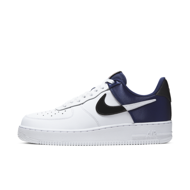 Nike Air Force 1 '07 LV8 NBA 'White/Midnight Navy'