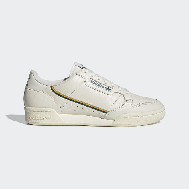 adidas Continental 80s off weiß/active gold f19/collegiate grün