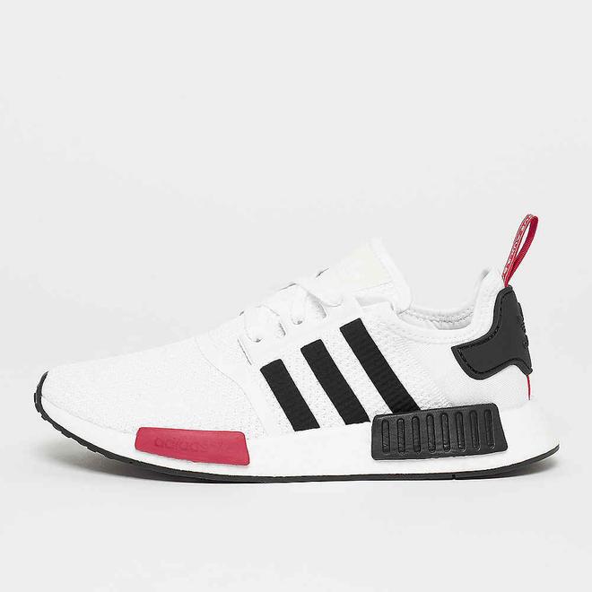 adidas NMD_R1 weiß/schwarz/power rot