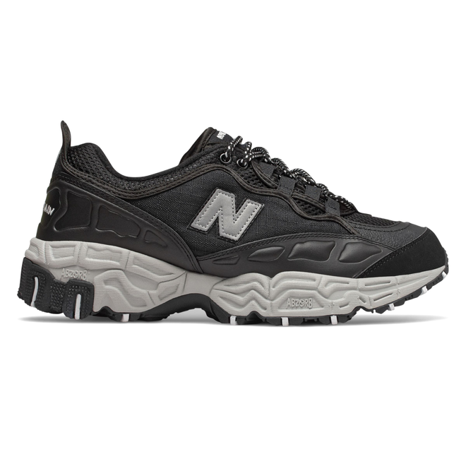 New Balance 801 Mens Black / Silver Trainers