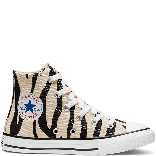 Little Kids Archive Zebra Chuck Taylor All Star High Top