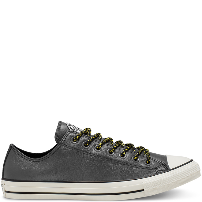 Unisex Tumbled Leather Chuck Taylor All Star Low Top