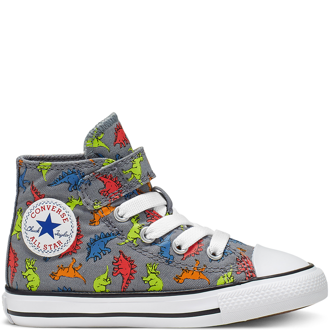 Infant Dinoverse Hook and Loop Chuck Taylor All Star High Top