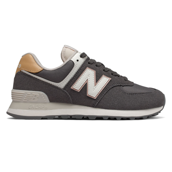 New Balance 574 Womens Grey / Ivory Trainers