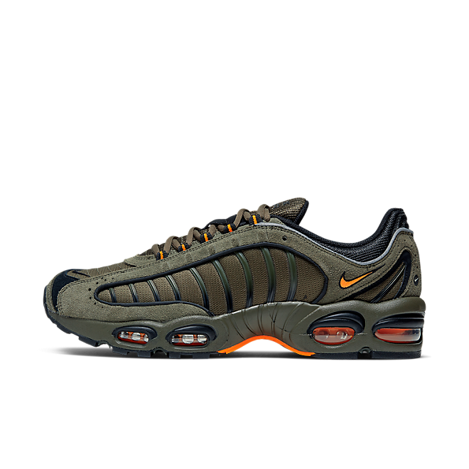 Nike Air Max Tailwind IV SE (Cargo Khaki / Total Orange - Black)