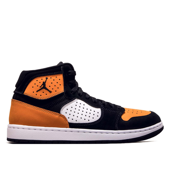 Herren Sneaker Access Black White Orange