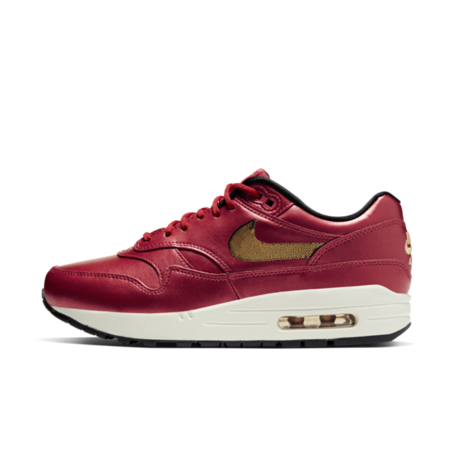 Nike Air Max 1 'Red' zijaanzicht