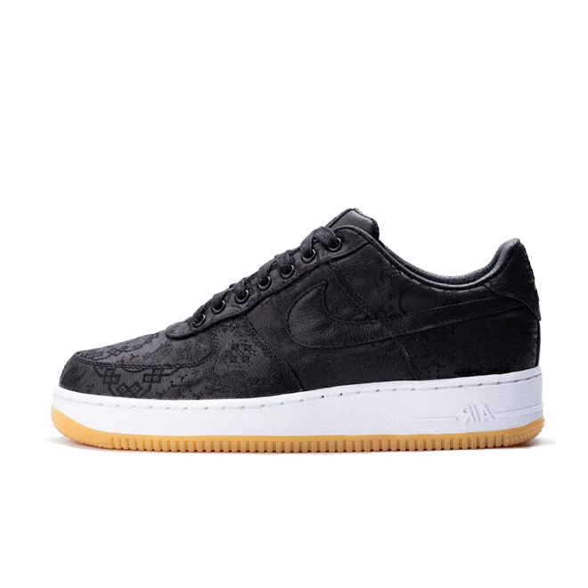 Fragment x CLOT x Nike Air Force 1 'Black'