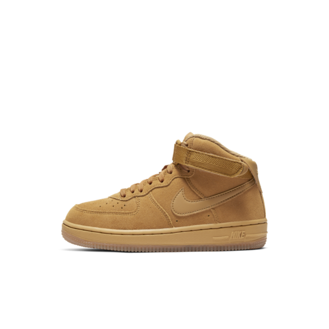 Nike Air Force 1 Mid 'Beige zijaanzicht