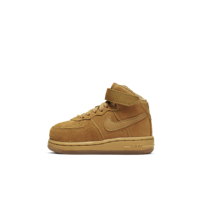 Nike Air Force 1 Mid 'Beige' zijaanzicht