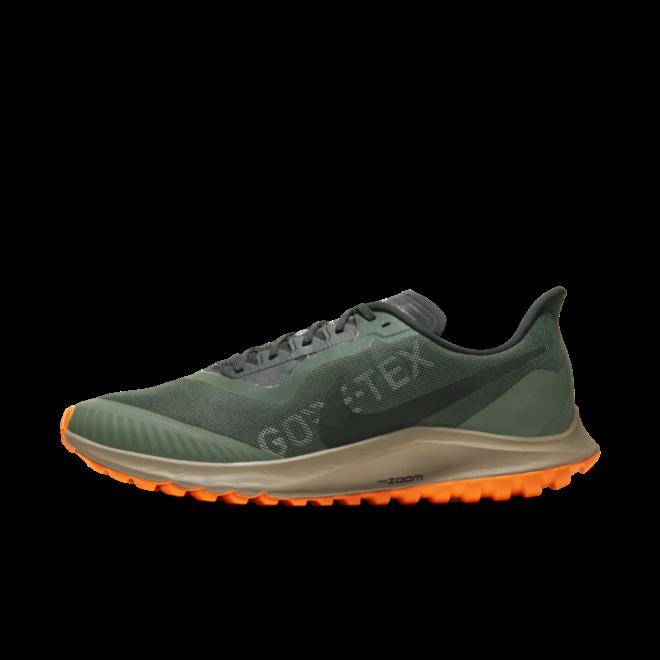 Nike Zoom Pegasus 36 Trail Gore-Tex 'Galactic Jade' zijaanzicht