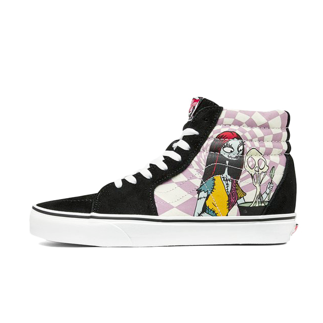 The Nightmare Before Christmas X Vans Sk8 Hi zijaanzicht