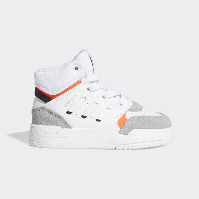 Adidas Drop step white/grey/red TS