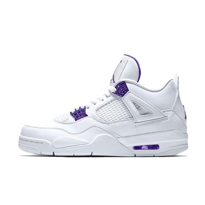 Air Jordan 4 Retro 'Court Purple' zijaanzicht