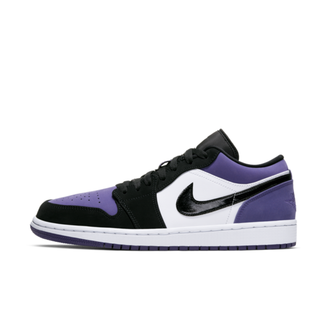 Air Jordan 1 Low 'Purple Toe' 553558-125