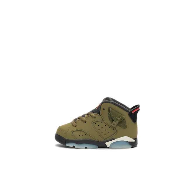 Travis Scott X Air Jordan 6 TD 'Medium Olive'