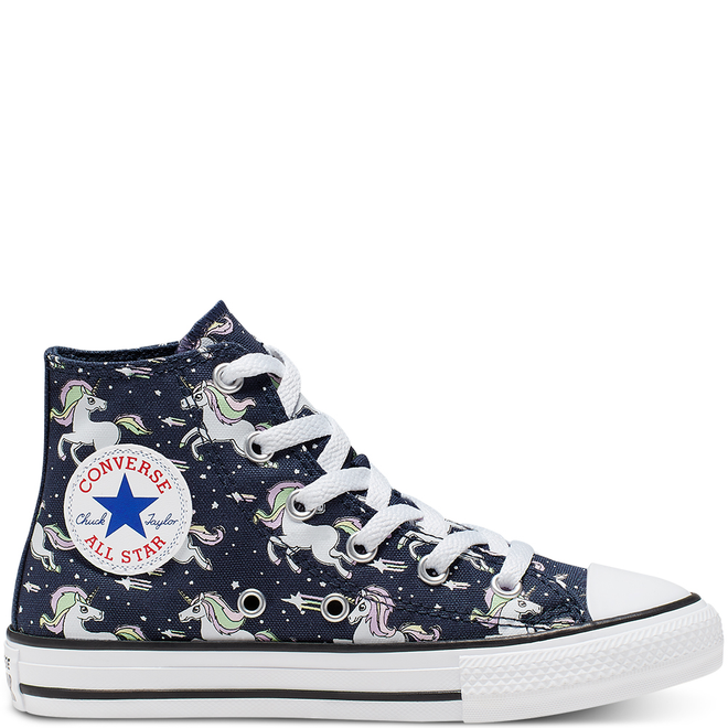 Big Kids Unicons Chuck Taylor All Star High Top | 666201C | Sneakerjagers