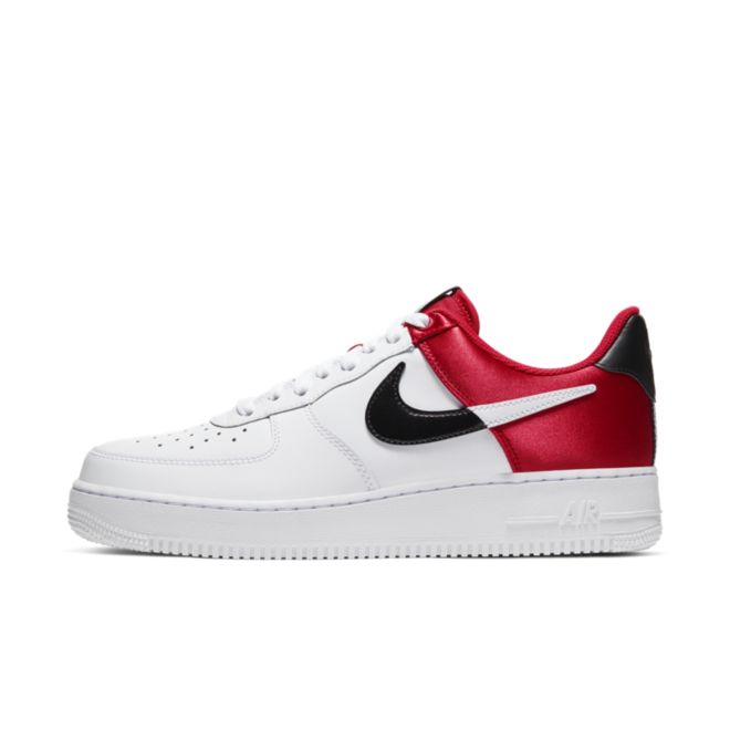 Nike Air Force 1 '07 LV8 NBA 'White/University Red'