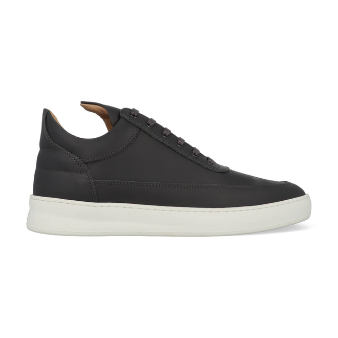 Filling Pieces Low Top Plain Matt Nappa Antracite