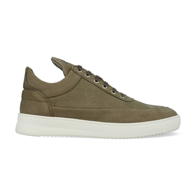 Filling Pieces Low Top Ripple Cairos Army Green