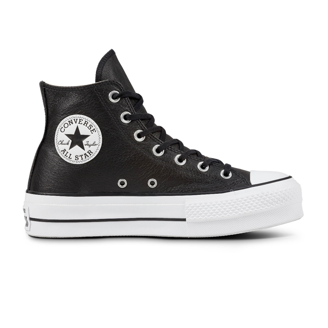Converse All Stars Lift Clean 561675C Zwart / Wit