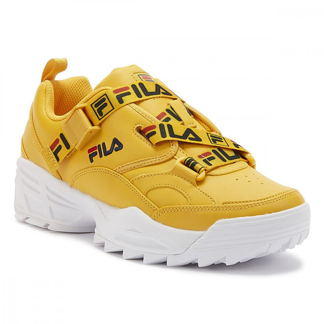 Fila Fast Charge Womens Citrus Yellow Trainers