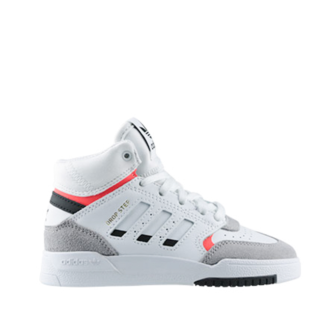 Adidas Drop step white/gray/red PS