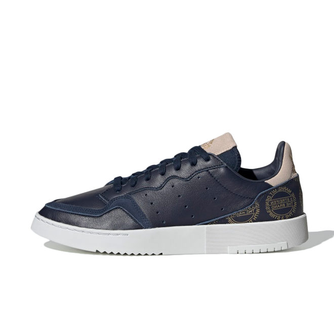 adidas Supercourt 'Home of Classics' Navy Gold EG5022